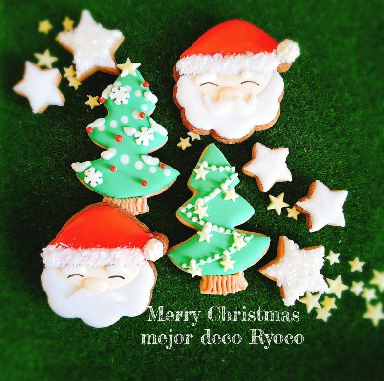 クリスマスアイシングクッキーづくり